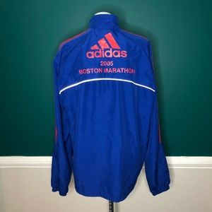 2005 Boston marathon adidas windbreaker jacket